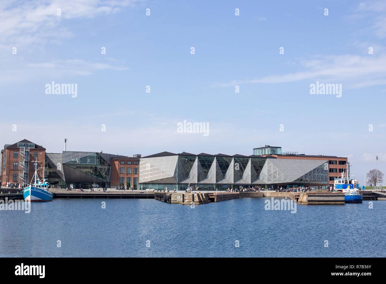 The Culture Yard in Helsingor, Denmark - Stock Image