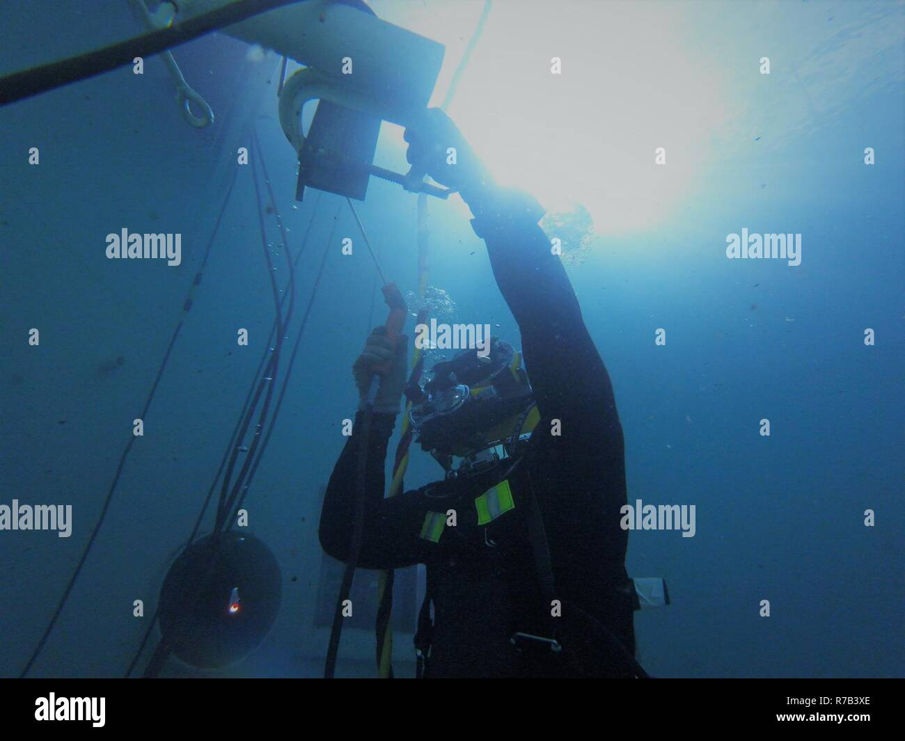 Underwater Welding Stock Photos & Underwater Welding Stock