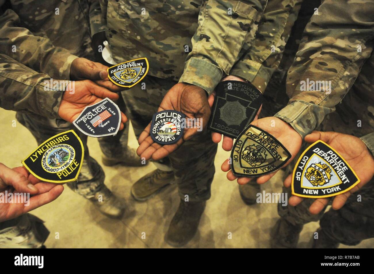 U S  Servicemembers, who are also law enforcements officers