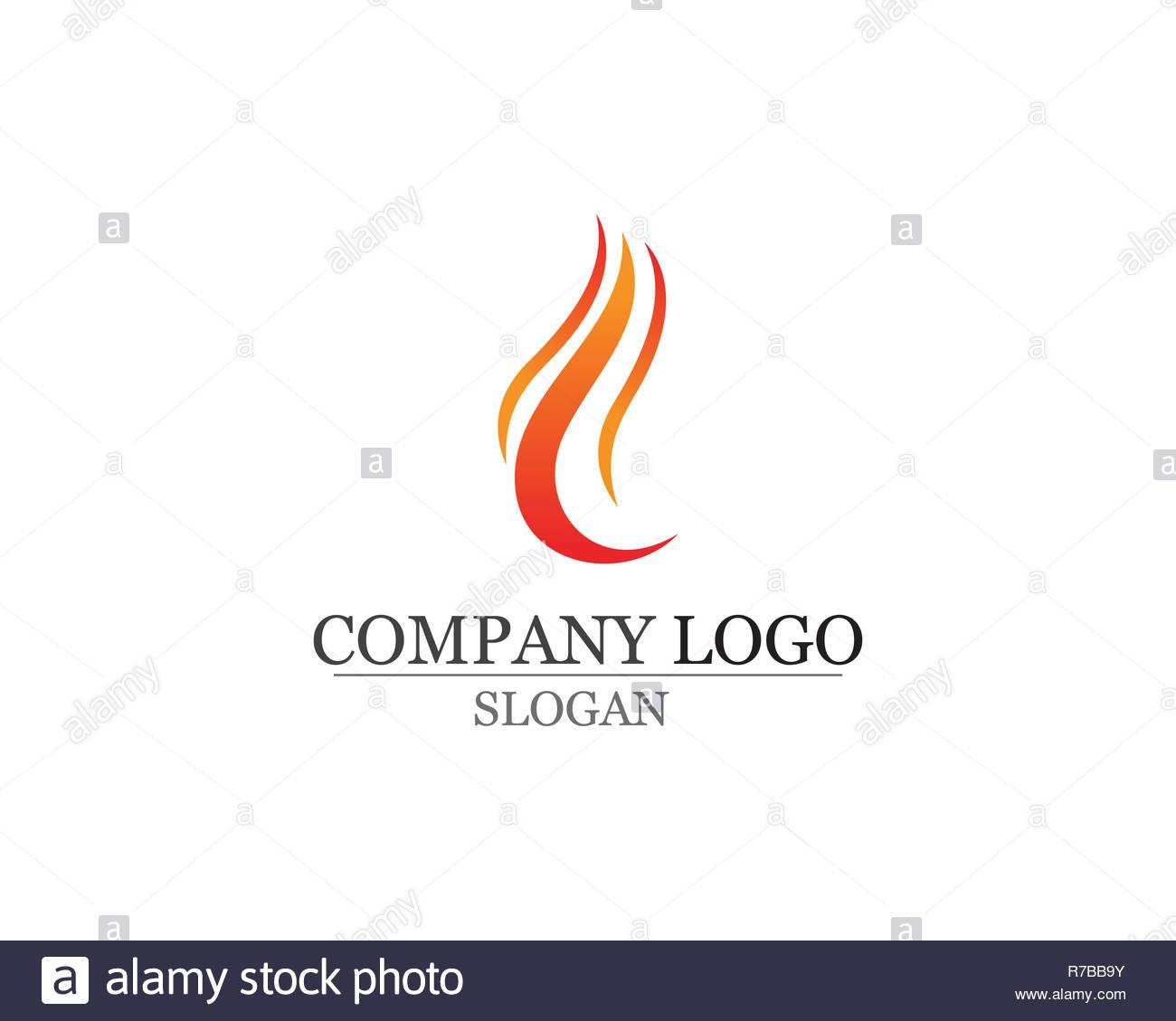 Danger Electricity Logo Stock Photos & Danger Electricity