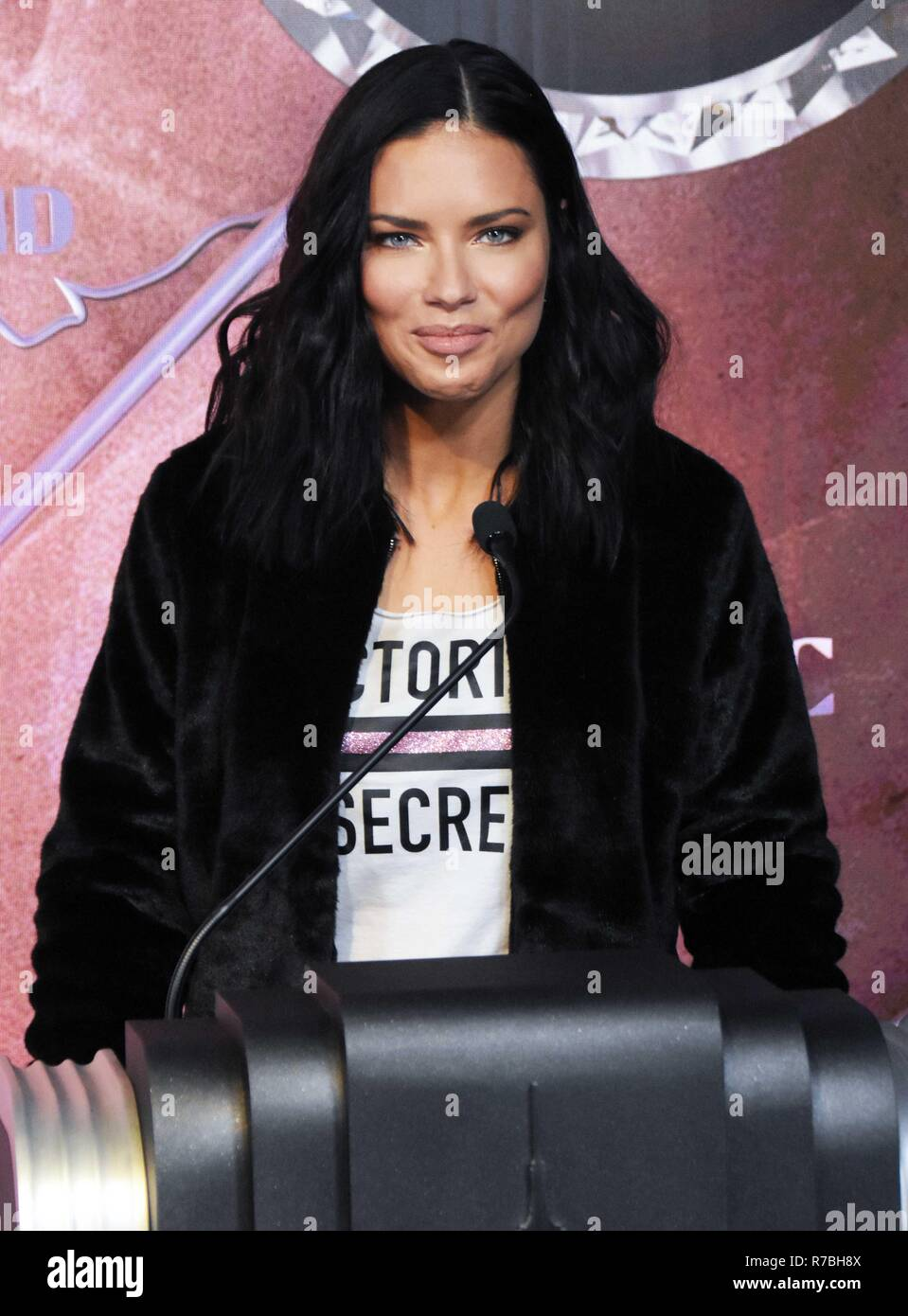 Empire State Building Host Adriana Lima in Celebration of