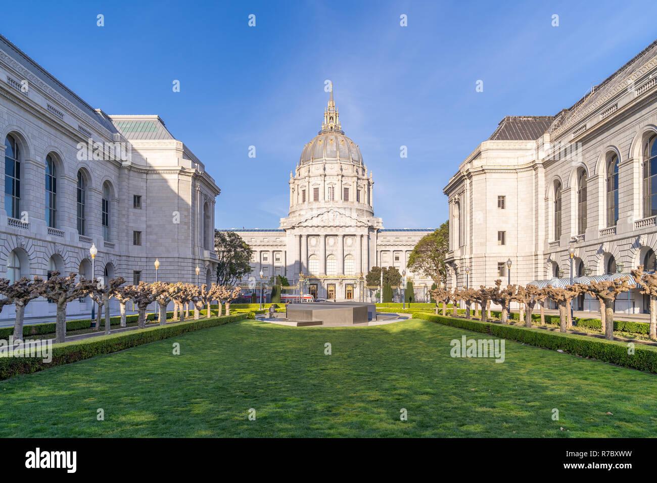 San francisco city hall - Stock Image