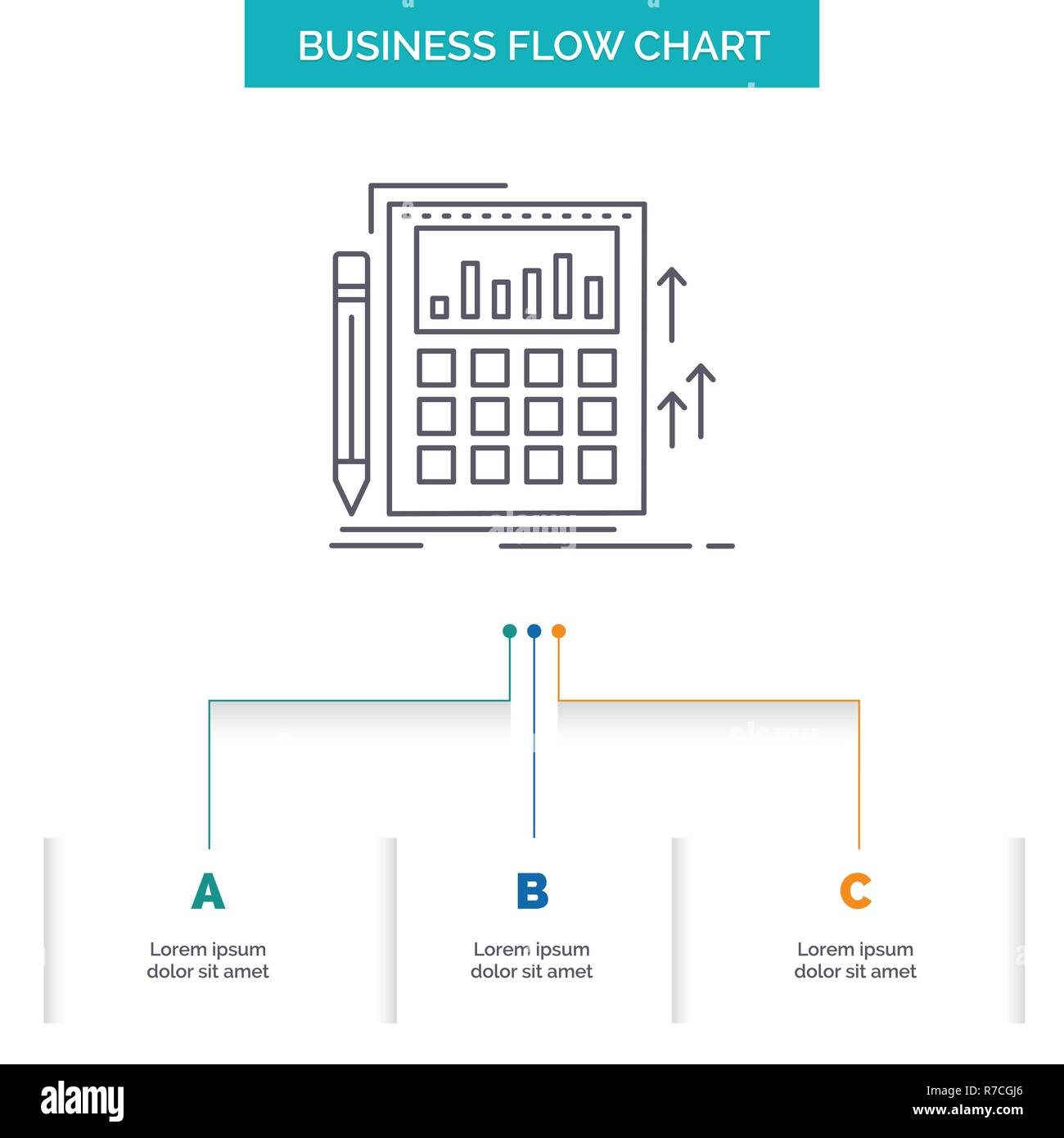 Design On Stock Bank.Accounting Audit Banking Calculation Calculator Business Flow