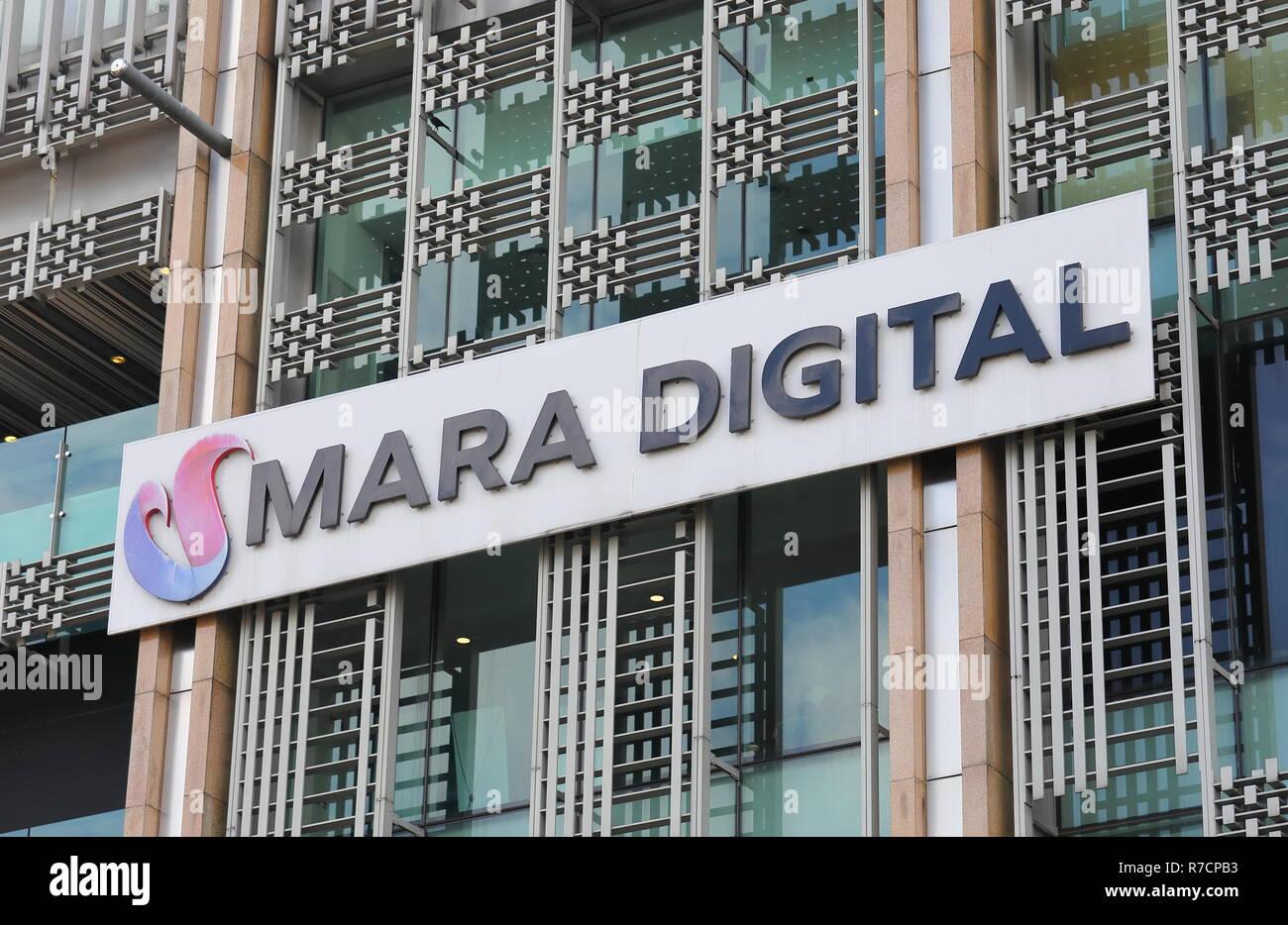 Mara Digital Shopping Mall In Kuala Lumpur Malaysia Stock Photo