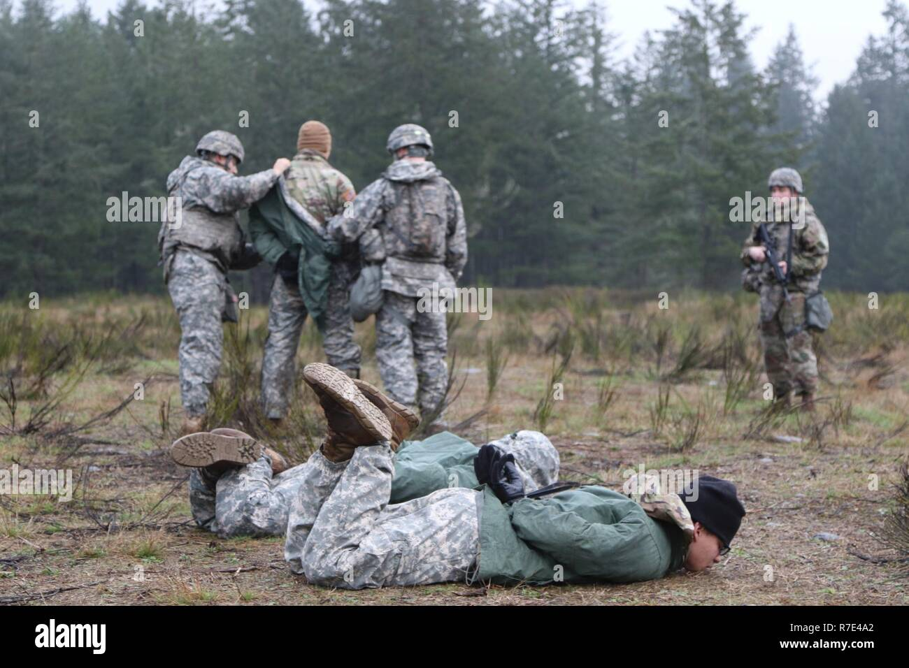 During a field training exercise on Joint Base Lewis-McChord