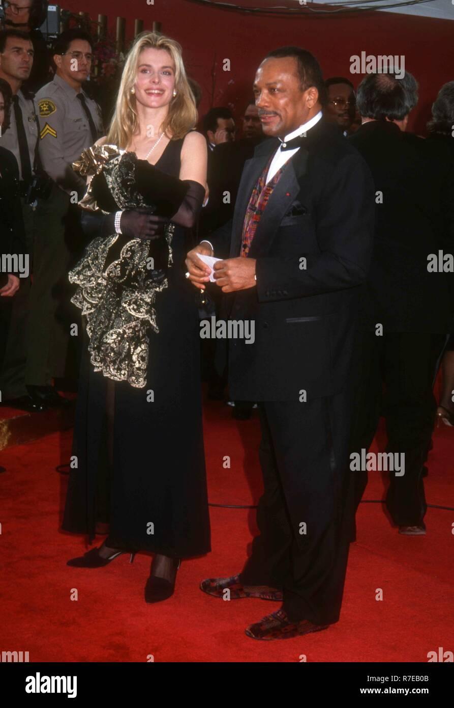 Quincy Jones And Nastassja Kinski Stock Photos & Quincy ...