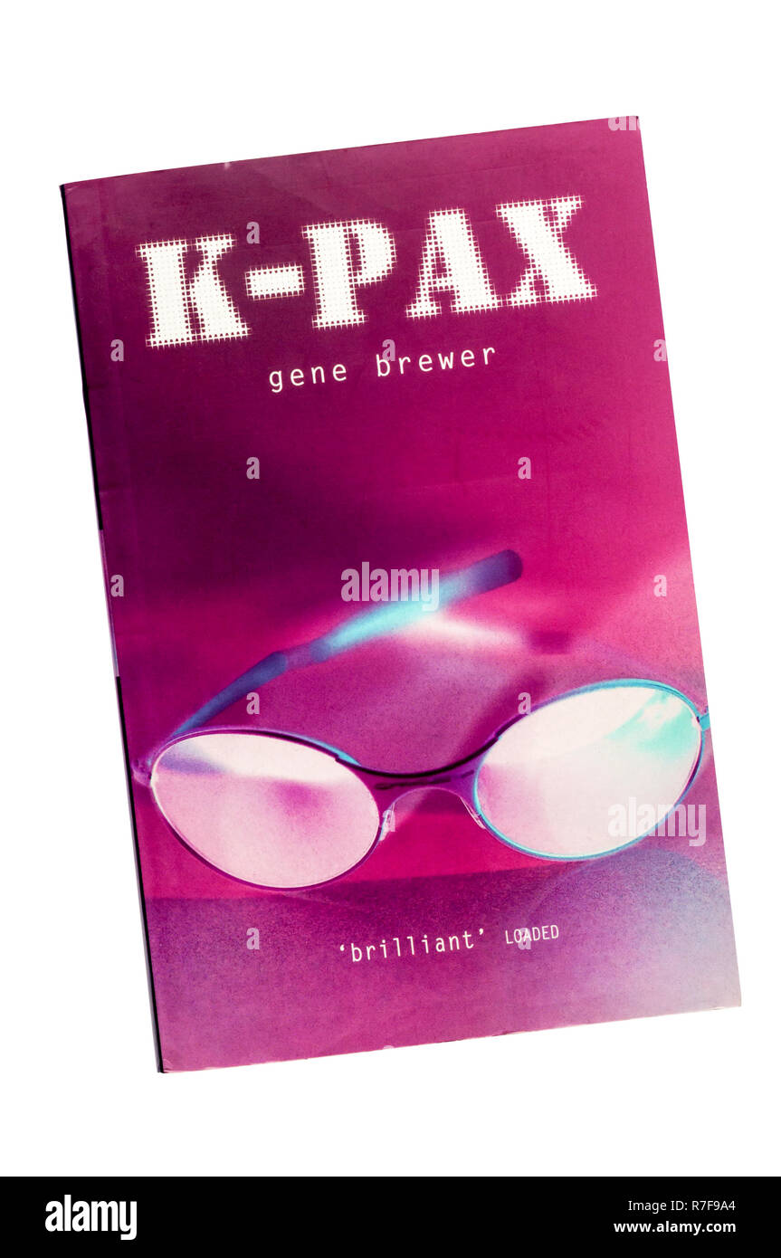 A paperback copy of the science fiction novel K-PAX by Gene Brewer, first published in 1995. - Stock Image
