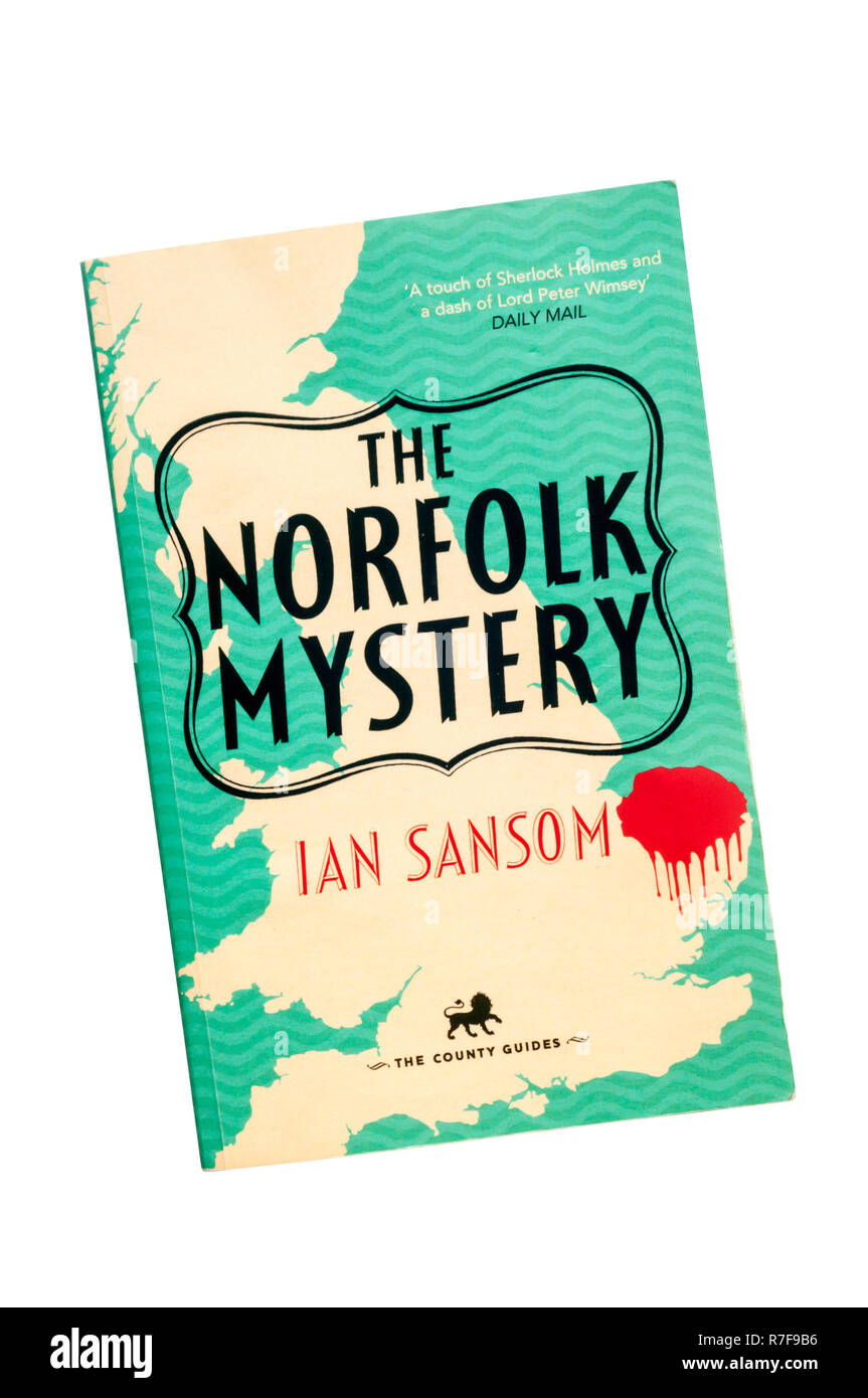 A paperback copy of The Norfolk Mystery by Ian Sansom.  First published in 2013. - Stock Image