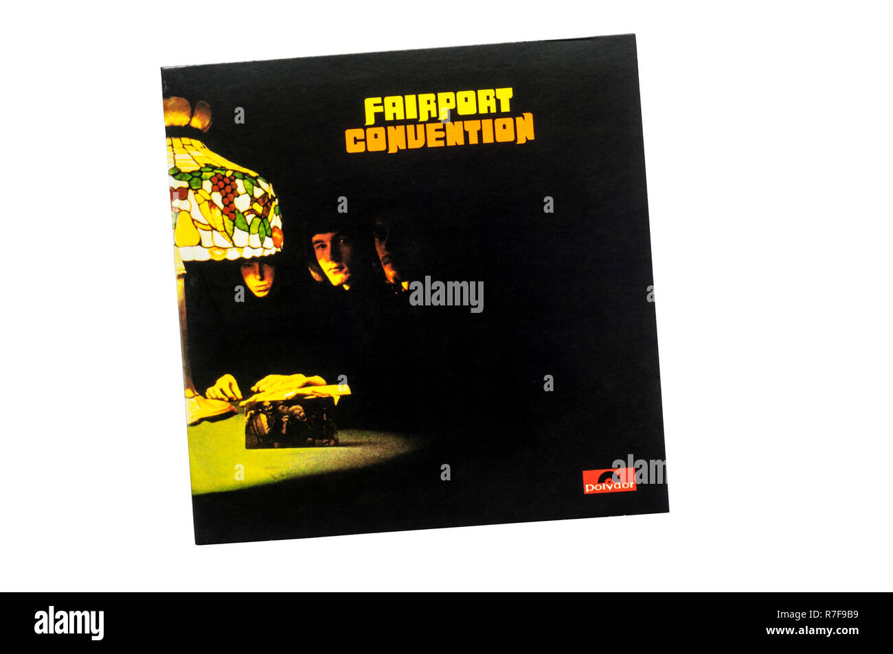 Fairport Convention was the first debut album by the British folk rock band of the same name. Released in 1967. - Stock Image