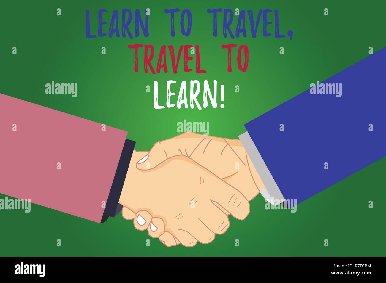 Text sign showing Learn To Travel Travel To Learn