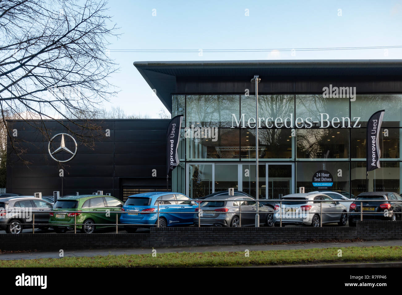 Mercedes-Benz of Whitefield car dealership Stock Photo