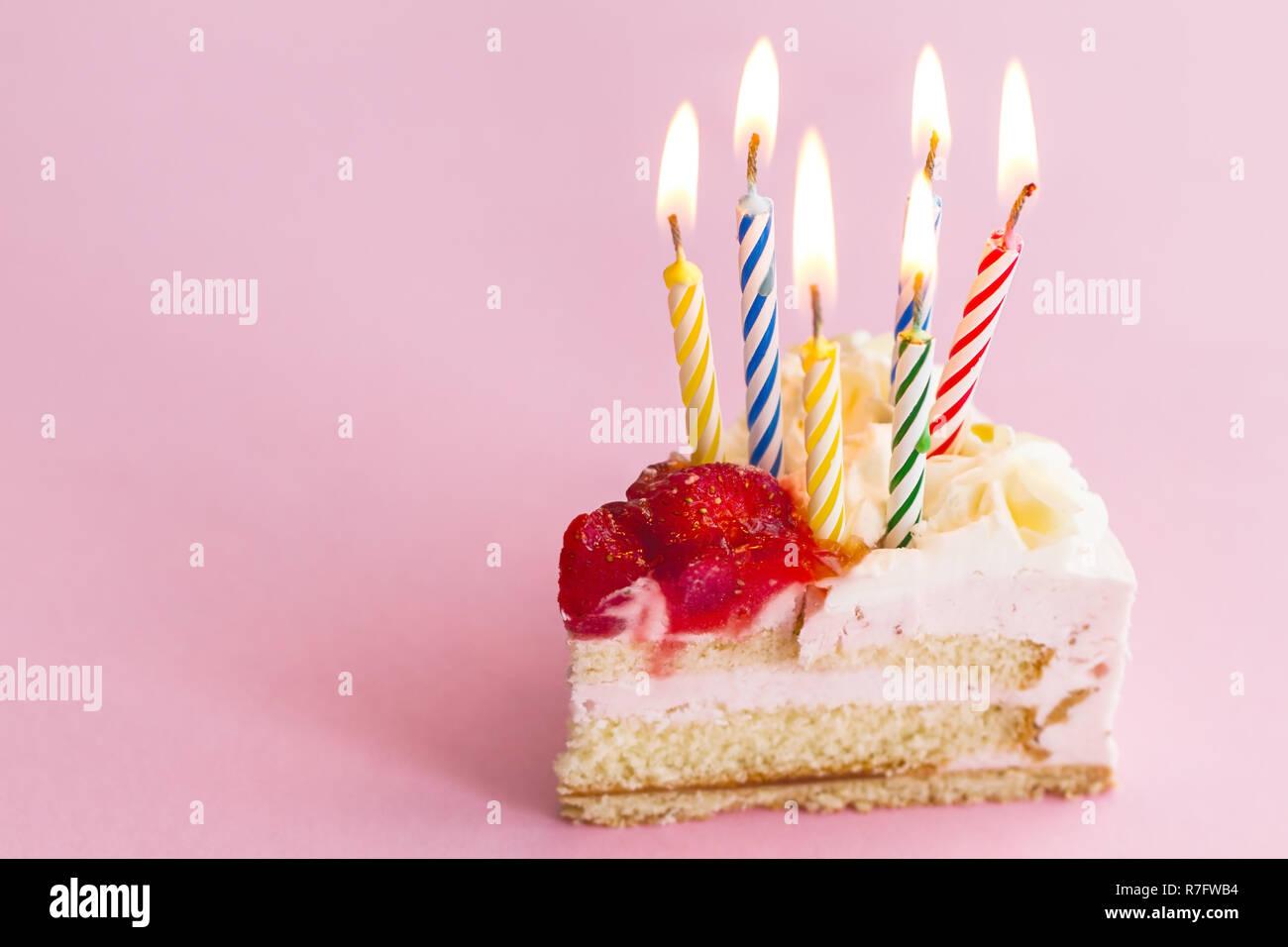 Amazing Closeup Of Tasty Beautiful Appetizing Elegant Piece Of Birthday Personalised Birthday Cards Petedlily Jamesorg