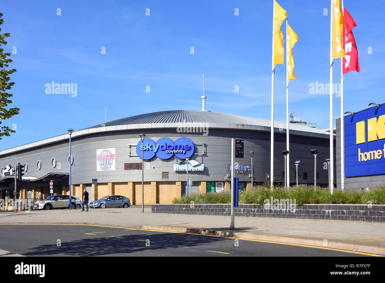 Skydome Coventry leisure and entertainment venue, Croft Road, Coventry, West Midlands, England, United Kingdom - Stock Image
