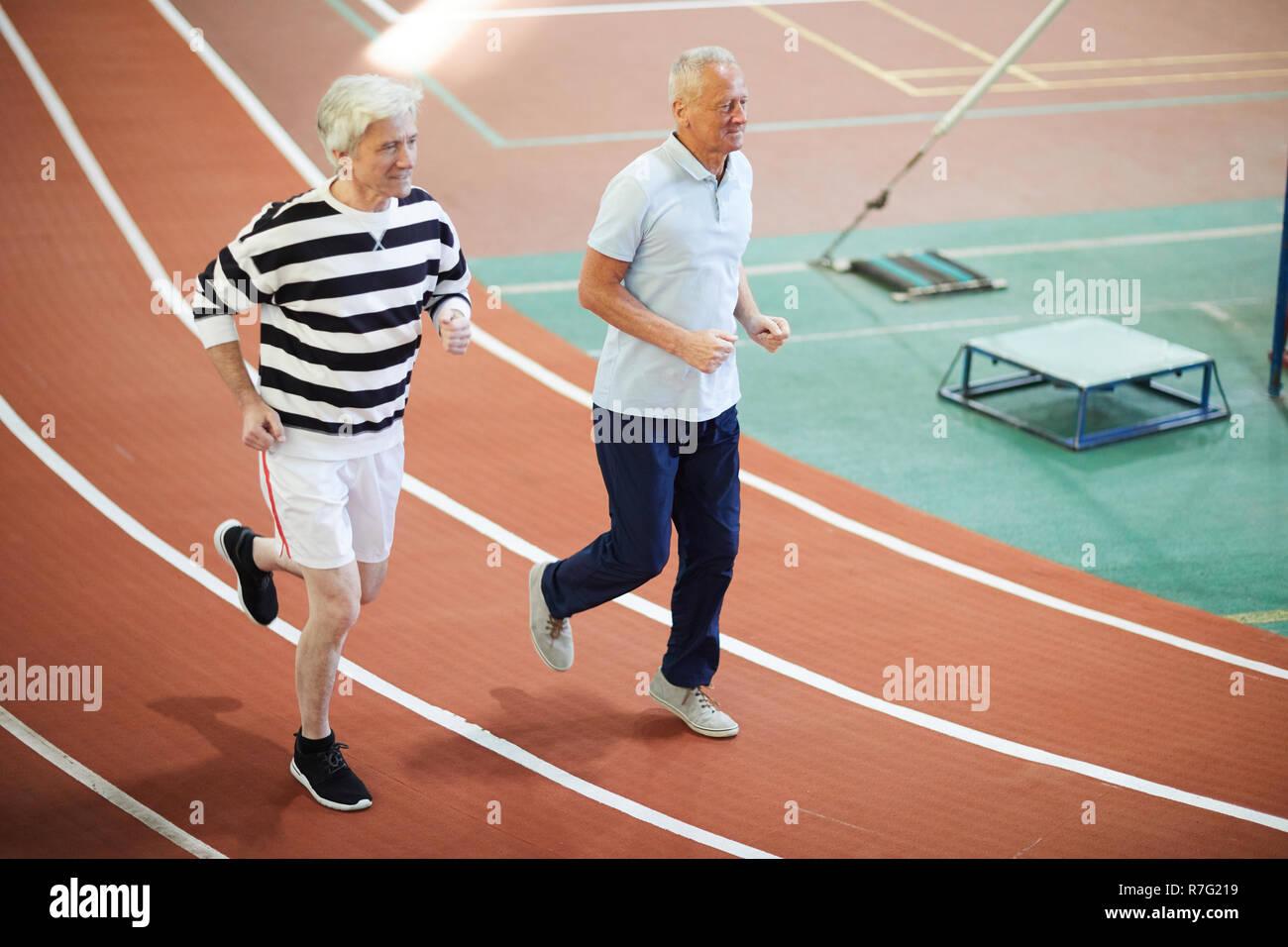 Retired sprinters - Stock Image