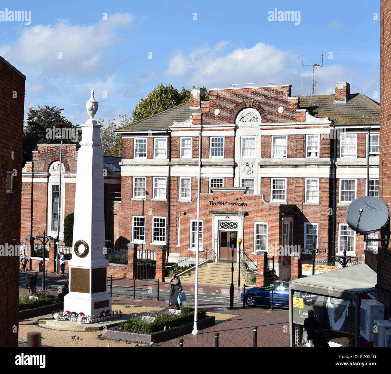 Old Courthouse, Grays Essex number 3729 Stock Photo