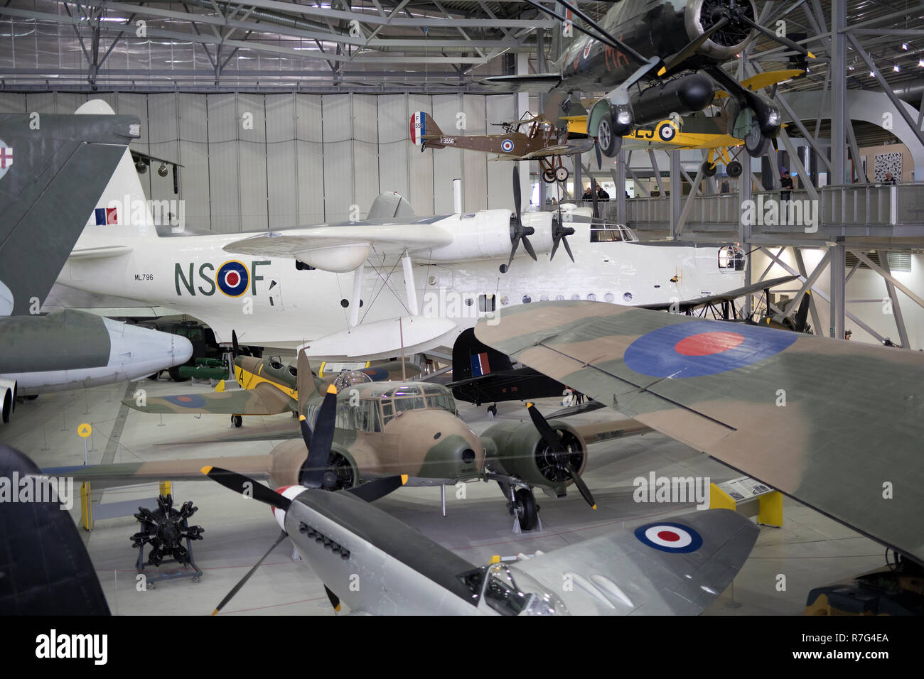Part of Duxford Air museum,Duxford, Cambridgeshire,uk - Stock Image