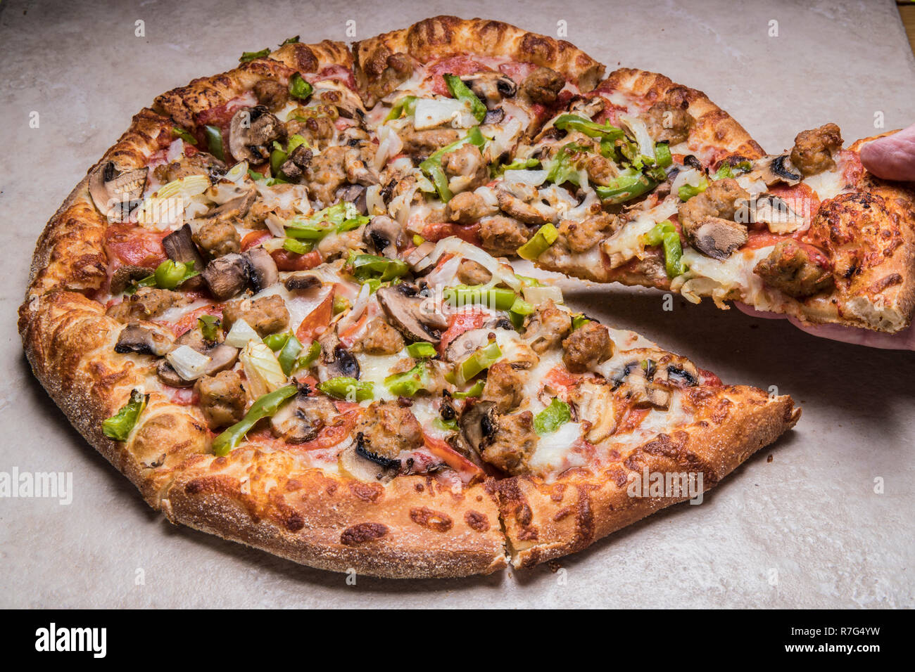 Uno Pizza Stock Photos Uno Pizza Stock Images Alamy