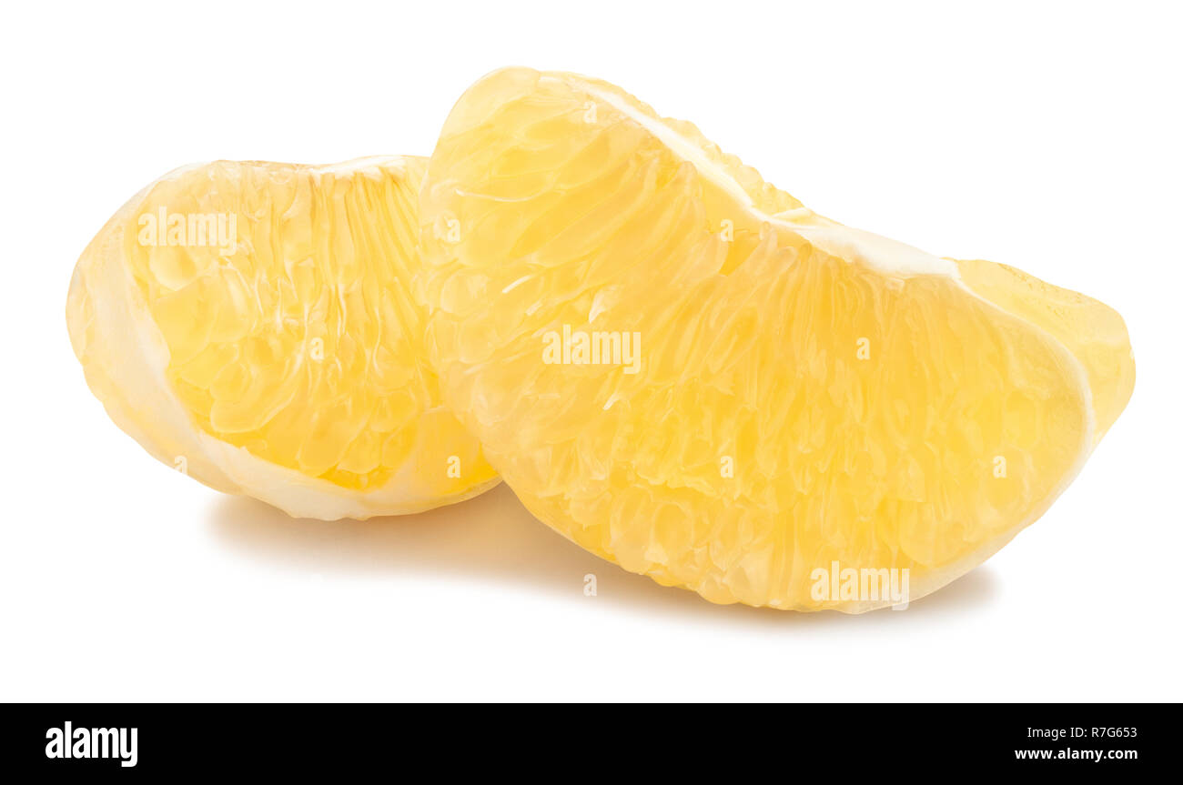 peeled sweety path isolated - Stock Image