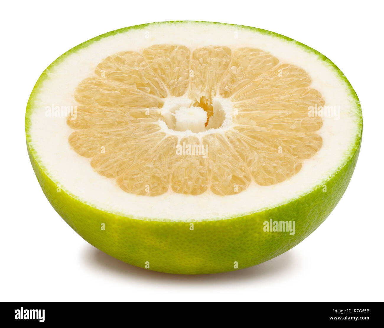 sliced sweety path isolated - Stock Image