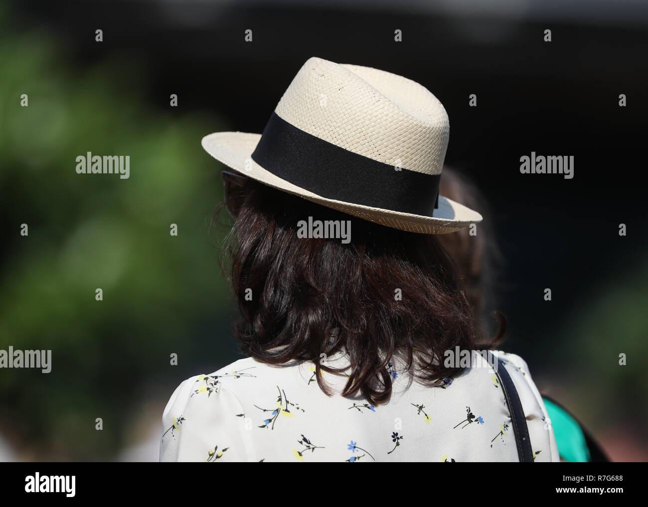 Straw Hat Straw Fan Straw Stock Photos   Straw Hat Straw Fan Straw ... 0a8fd9d9c3e