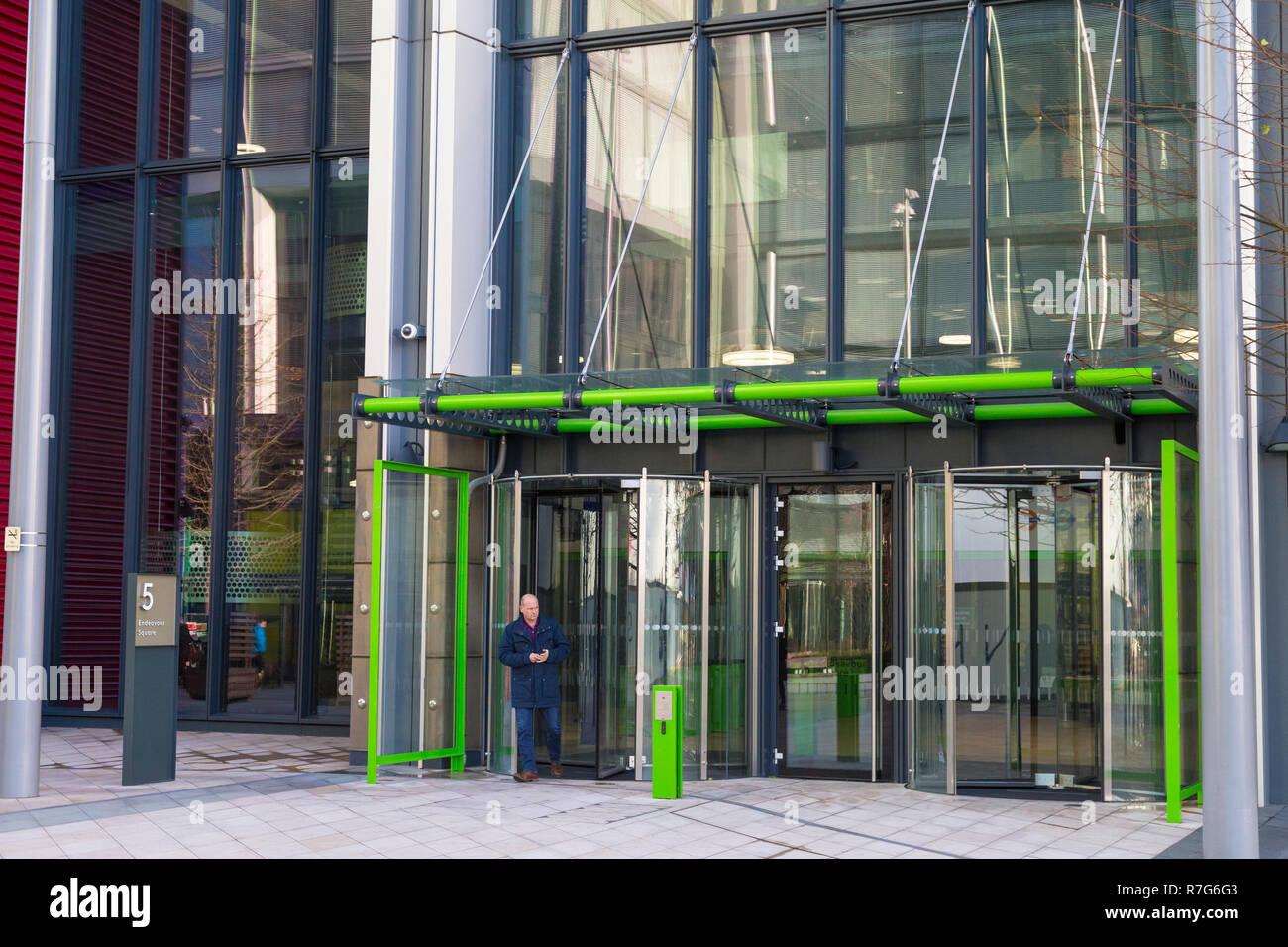 Tfl, transport for london office, endeavour square, stratford, london, uk - Stock Image