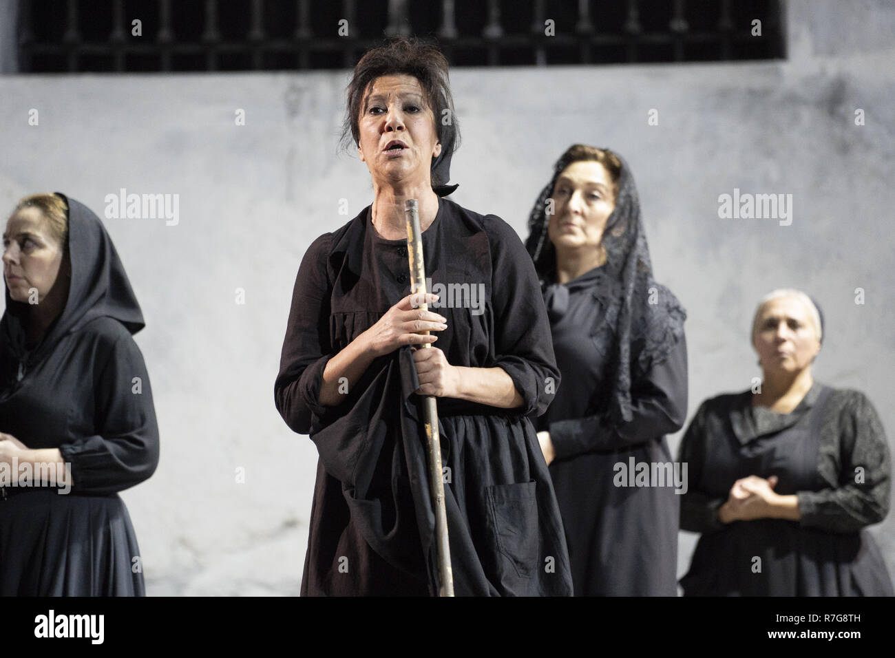 The opera 'La Casa de Bernarda Alba (The House of Bernarda Alba)' at the  Teatro de la Zarzuela Featuring: Atmosphere Where: Madrid, Spain When: 08  Nov 2018 ...