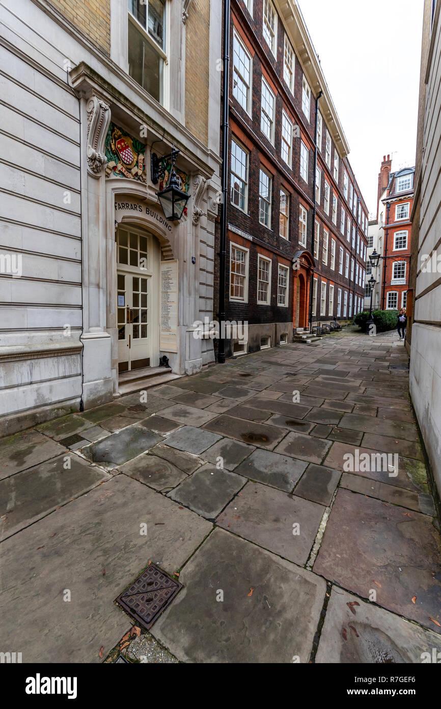 Farrar's Building at Pump Court, London. UK - Stock Image
