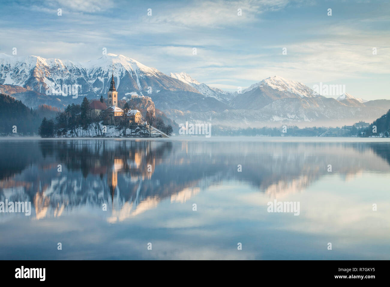 Lake Bled And Assumption Of Mary S Pilgrimage Church In
