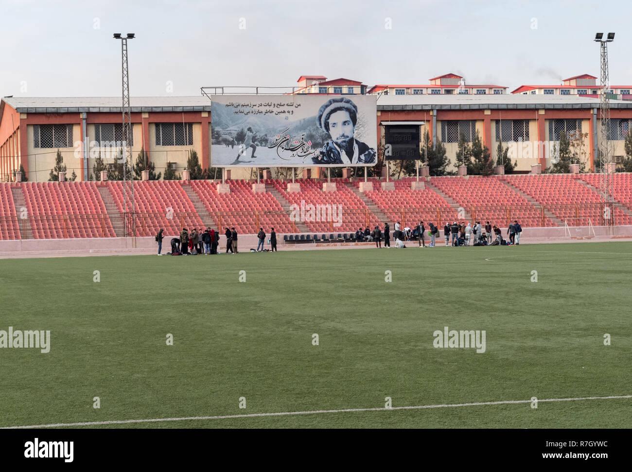Ghazi Stadium, Kabul, Kabul Province, Afghanistan Stock Photo