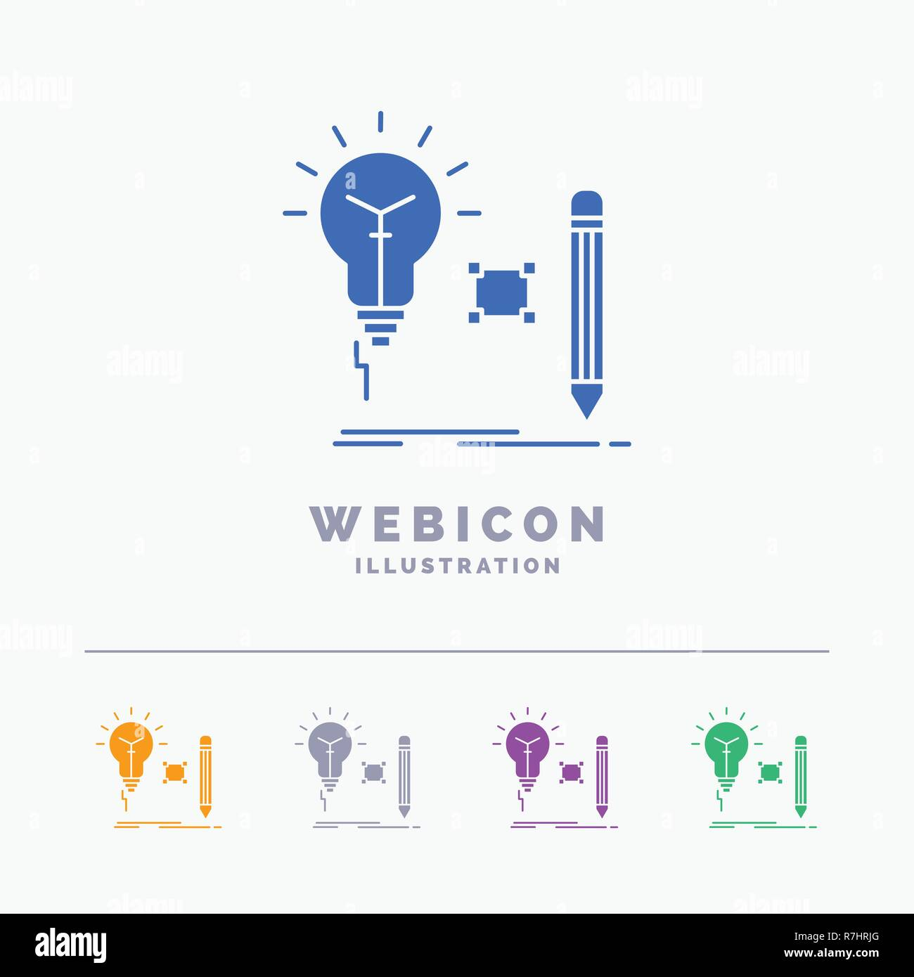 Art Of Stock Vector Images Page 46 Alamy Lightbulbsymbolcircuitdiagram Light Bulb Symbol Circuit Diagram Idea Insight Key Lamp Lightbulb 5 Color Glyph Web Icon Template Isolated