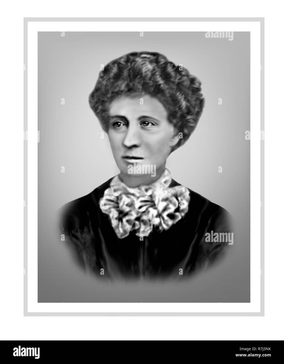 Selina Sarah Siggins 1878-1964 Australian Political Activist - Stock Image