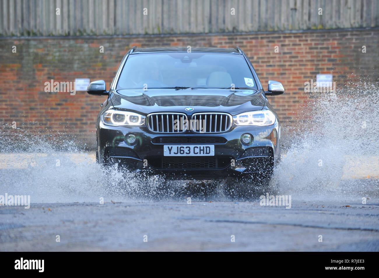 2013 BMW X5 M50d German performance SUV - Stock Image