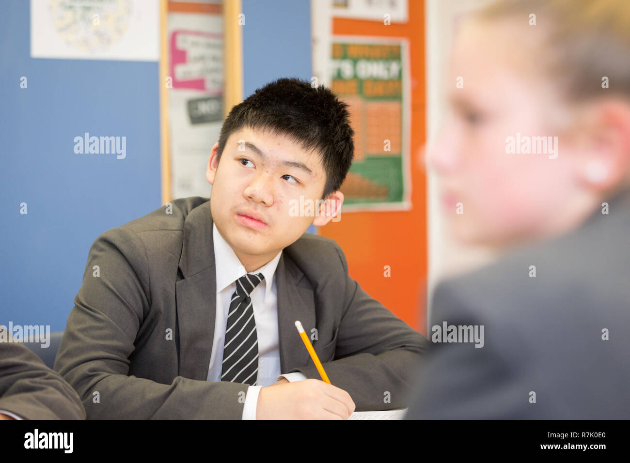 14 Year Old Asian Boy High Resolution Stock Photography And Images Alamy