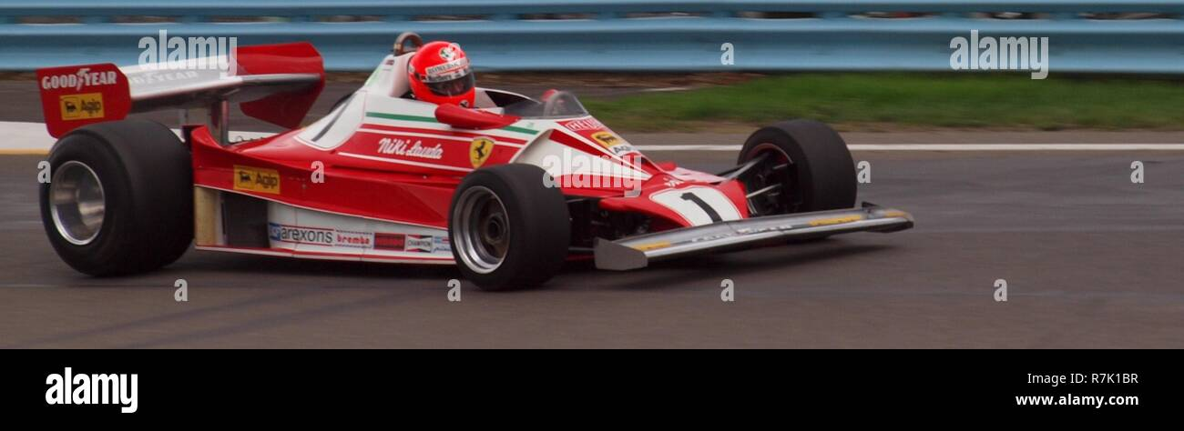 Historic Ferrari Formula 1 car once raced by Nikki Lauda