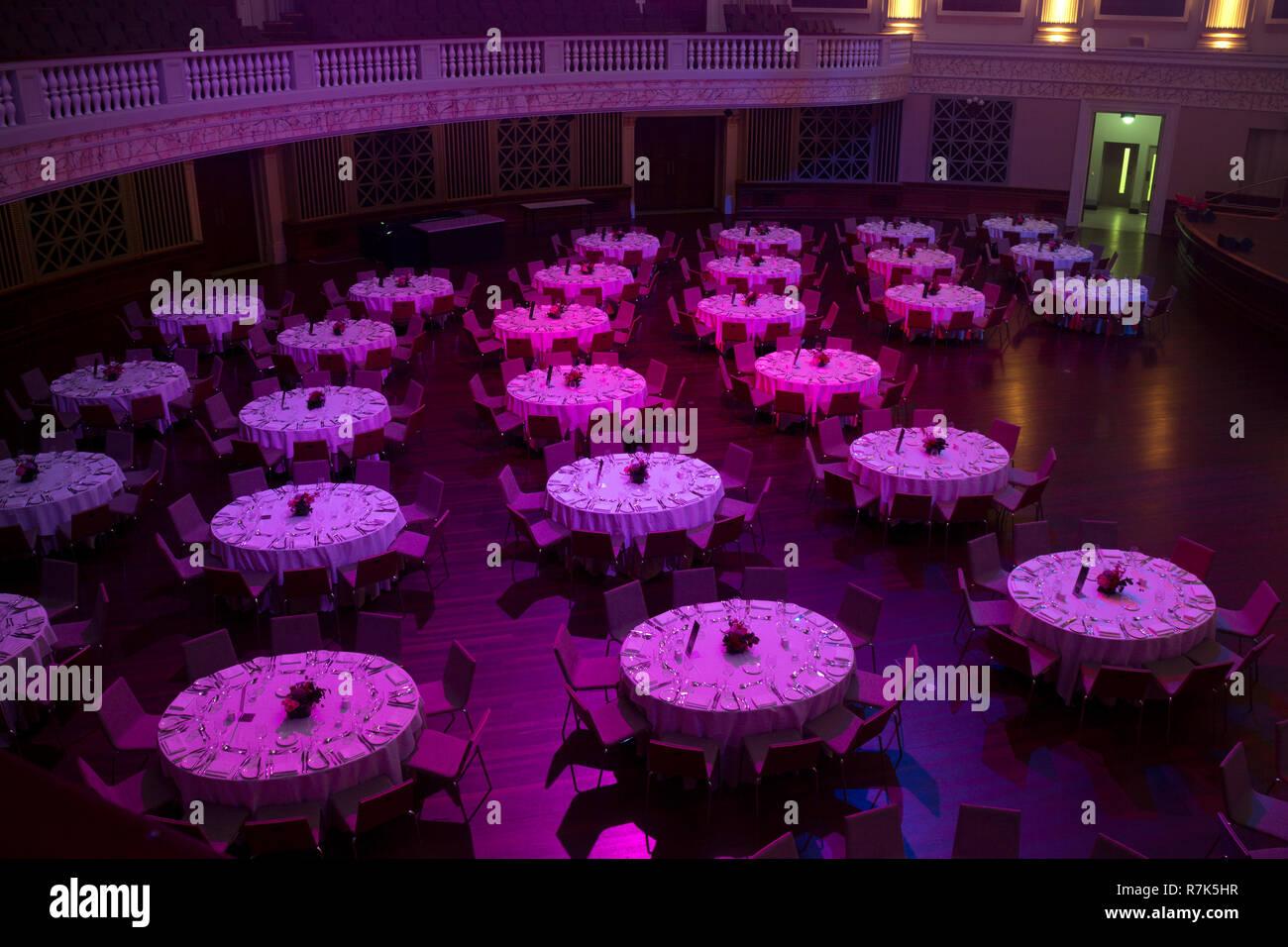 City Hall auditorium, Brisbane, Queensland, Australia Stock Photo