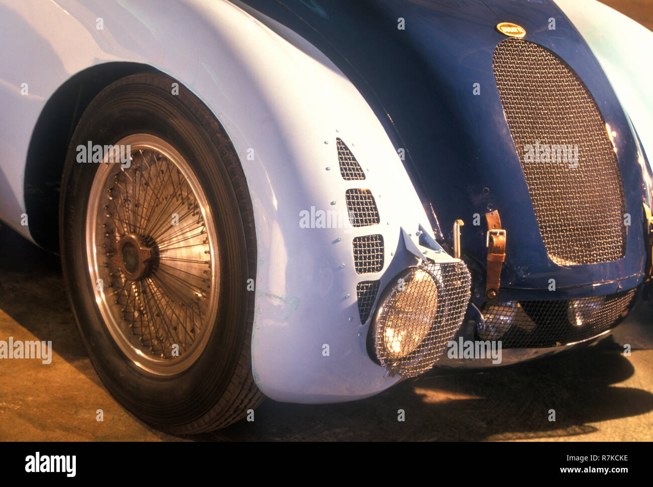 1936 Bugatti Type 57G Tank racing car - Stock Image
