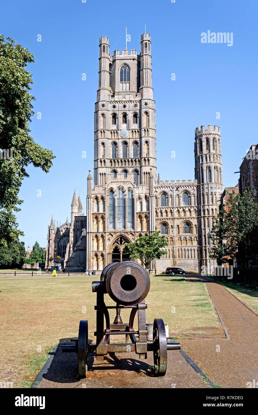 Ely (Cambridgeshire) Cathedral - Stock Image