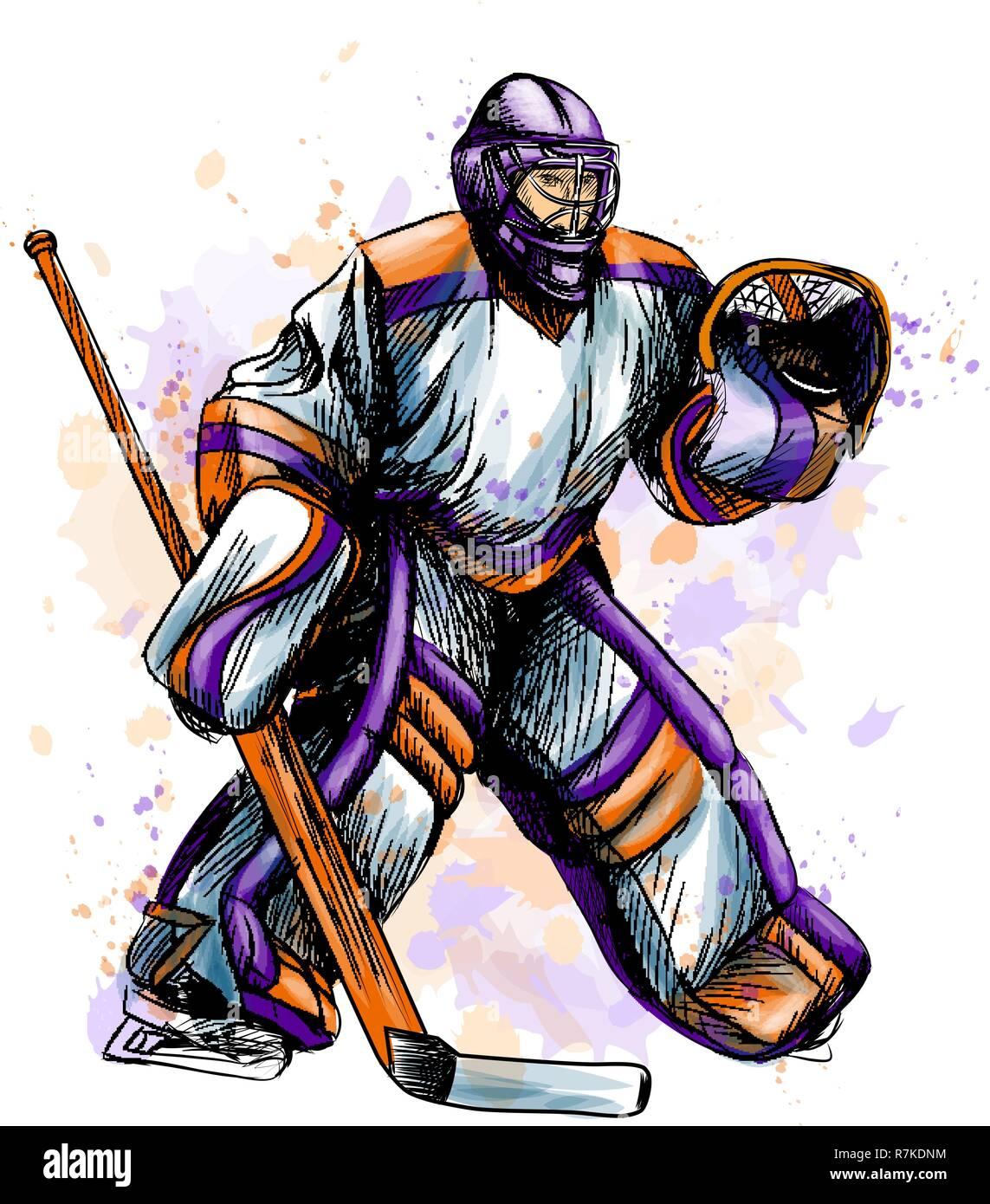 Hockey Goalie Mask Icon Cartoon Stock Photos Hockey Goalie Mask