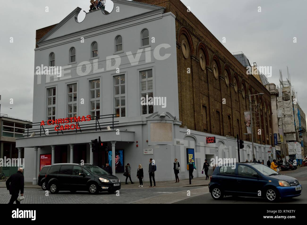 Old Vic theatre, waterloo, southwark - Stock Image
