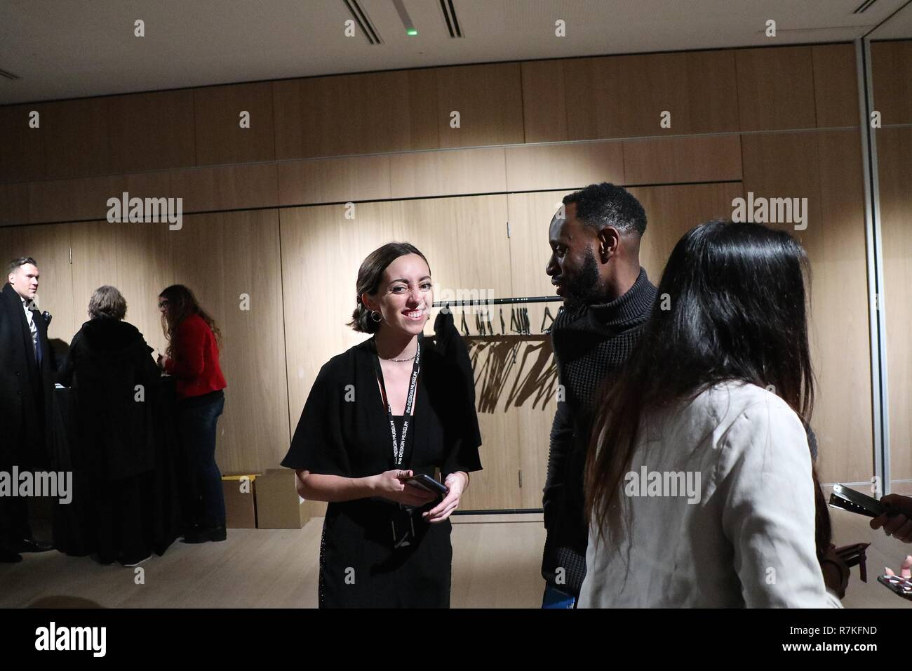 Dwelling Designers in residence Design Museum 2018 - Stock Image