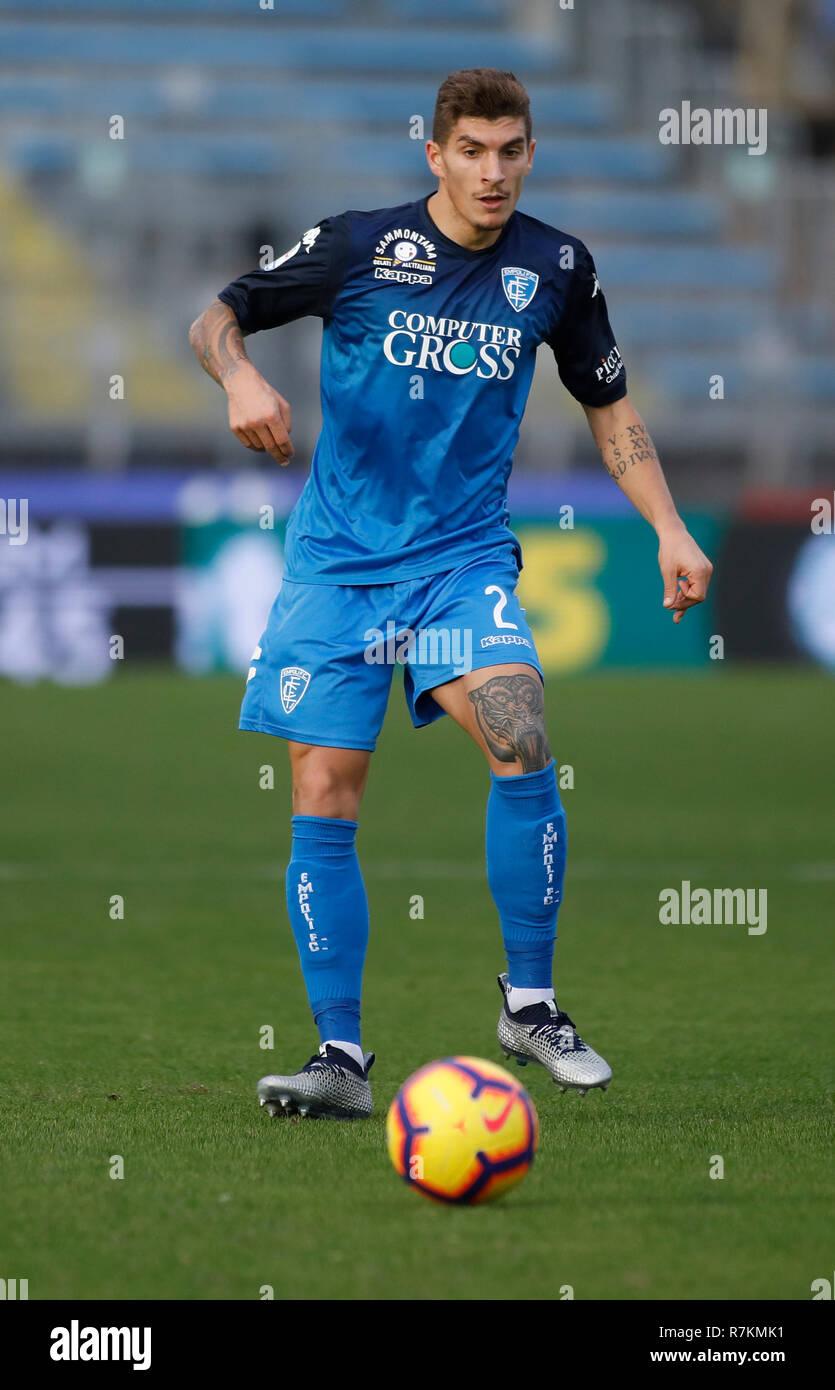 Foto Marco Bucco/LaPresse 09 Dicembre 2018 Empoli, Italia sport calcio  Empoli vs Bologna- Campionato di
