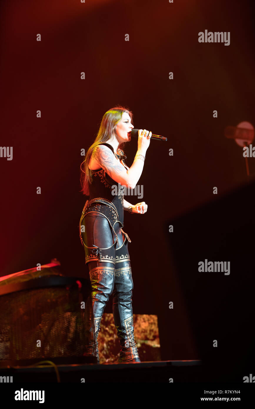 Birmingham, United Kingdom, 10 December 2018  Lead Singer