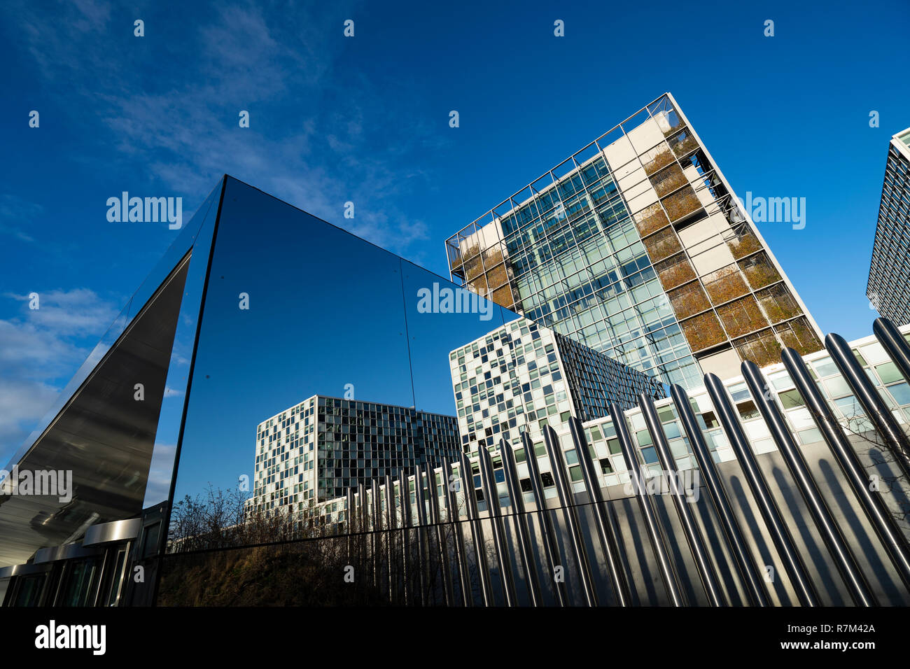 The new headquarters of the International Criminal Court , ICC, in The Hague, The Netherlands - Stock Image