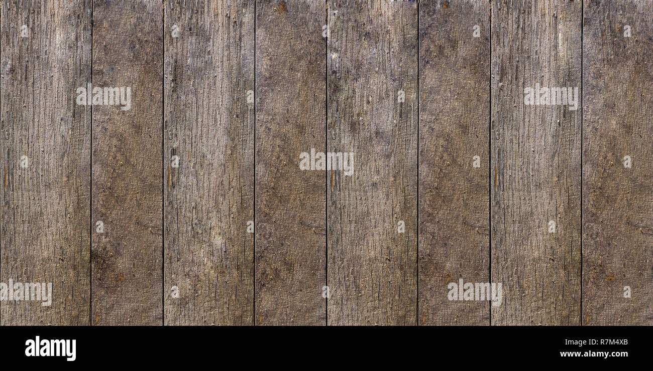 CLOSE-UP OF OLD WOODEN PLANKS USABLE AS  BACKGROUND TEXTURE - Stock Image