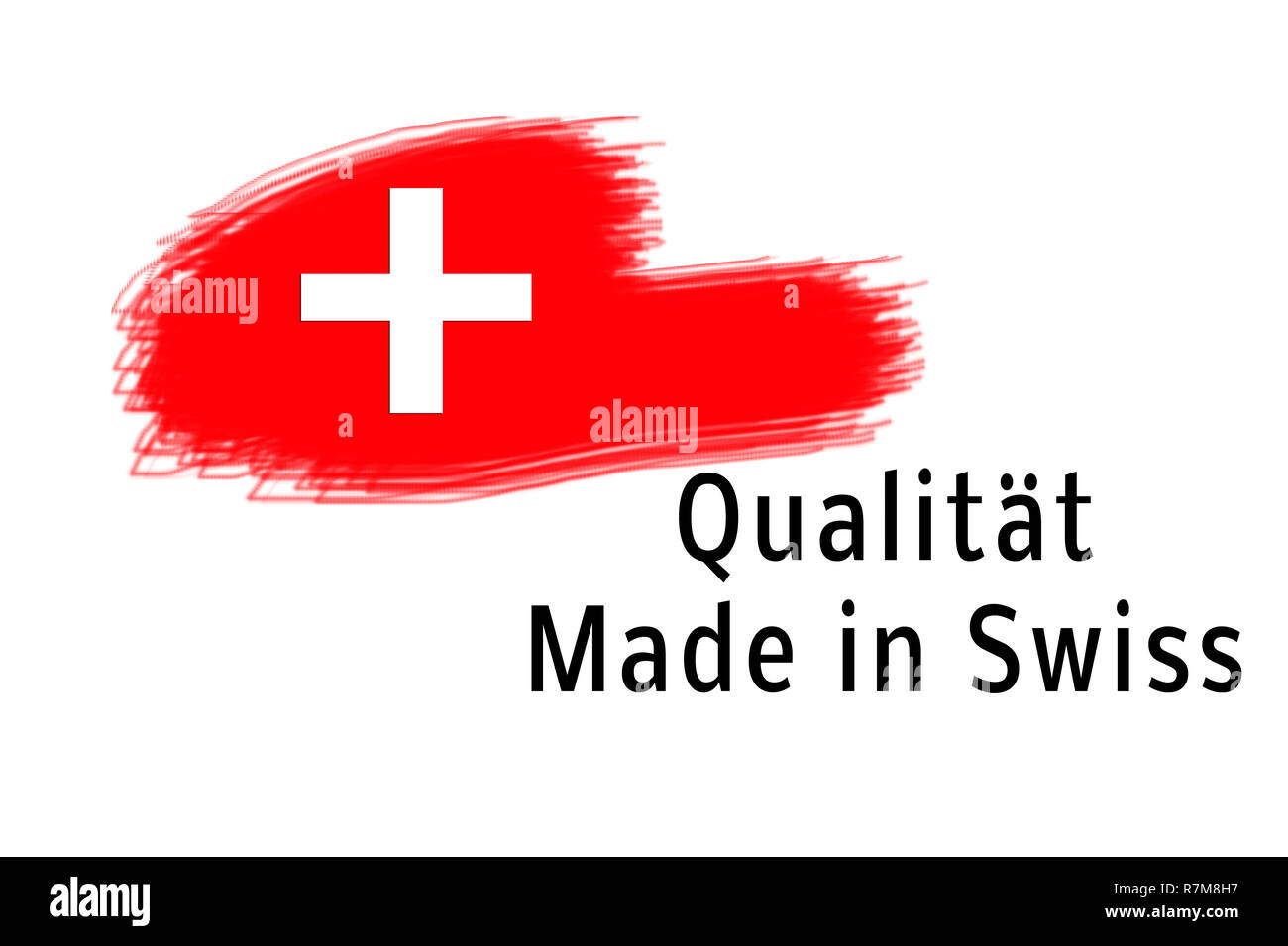 Quality Made in Swiss - Stock Image