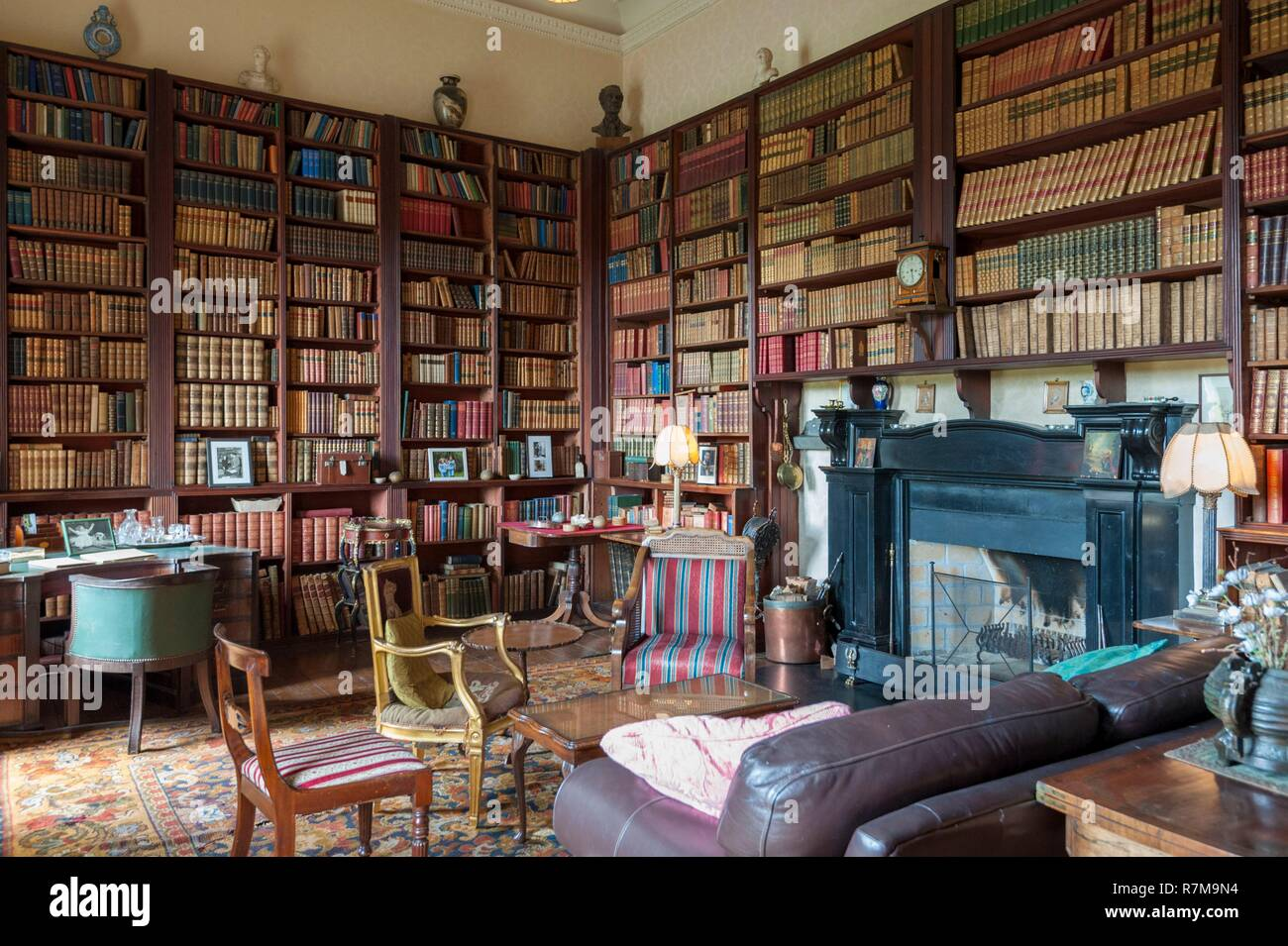 74876983d6ac6 Republic of Ireland, County Mayo, Westport, Westport House and Park hotel,  library