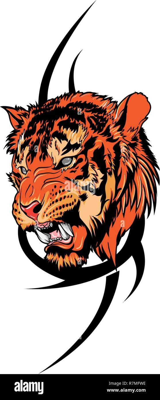 Tiger Tattoo Stock Photos & Tiger Tattoo Stock Images - Alamy