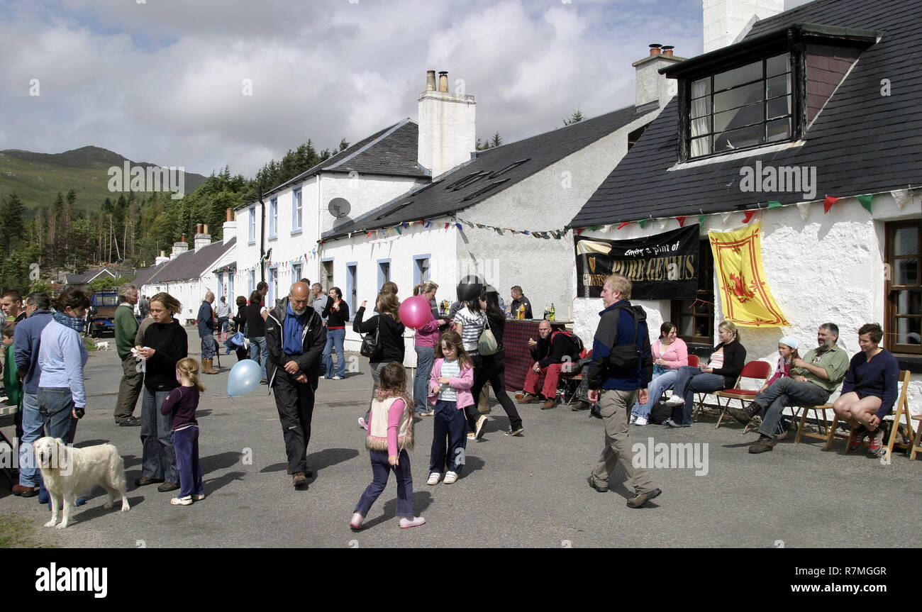 Visitors, tourists and locals start to gather for the annual