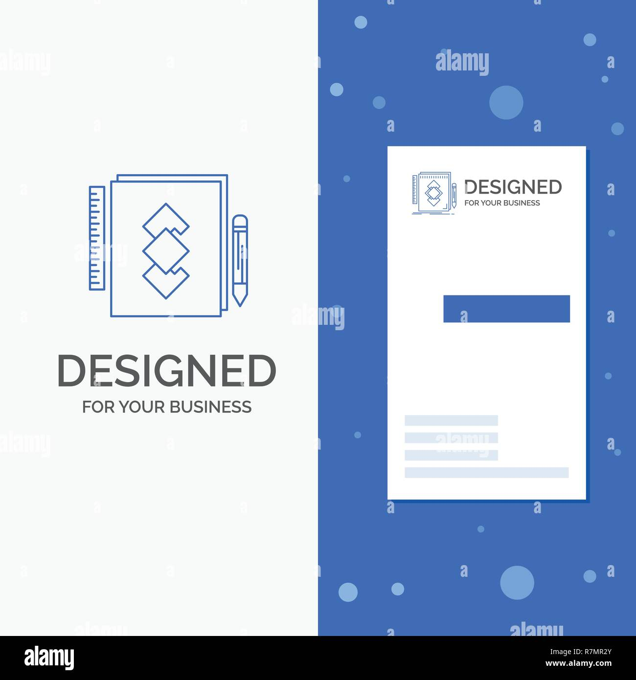 Business Logo For Design Tool Identity Draw Development