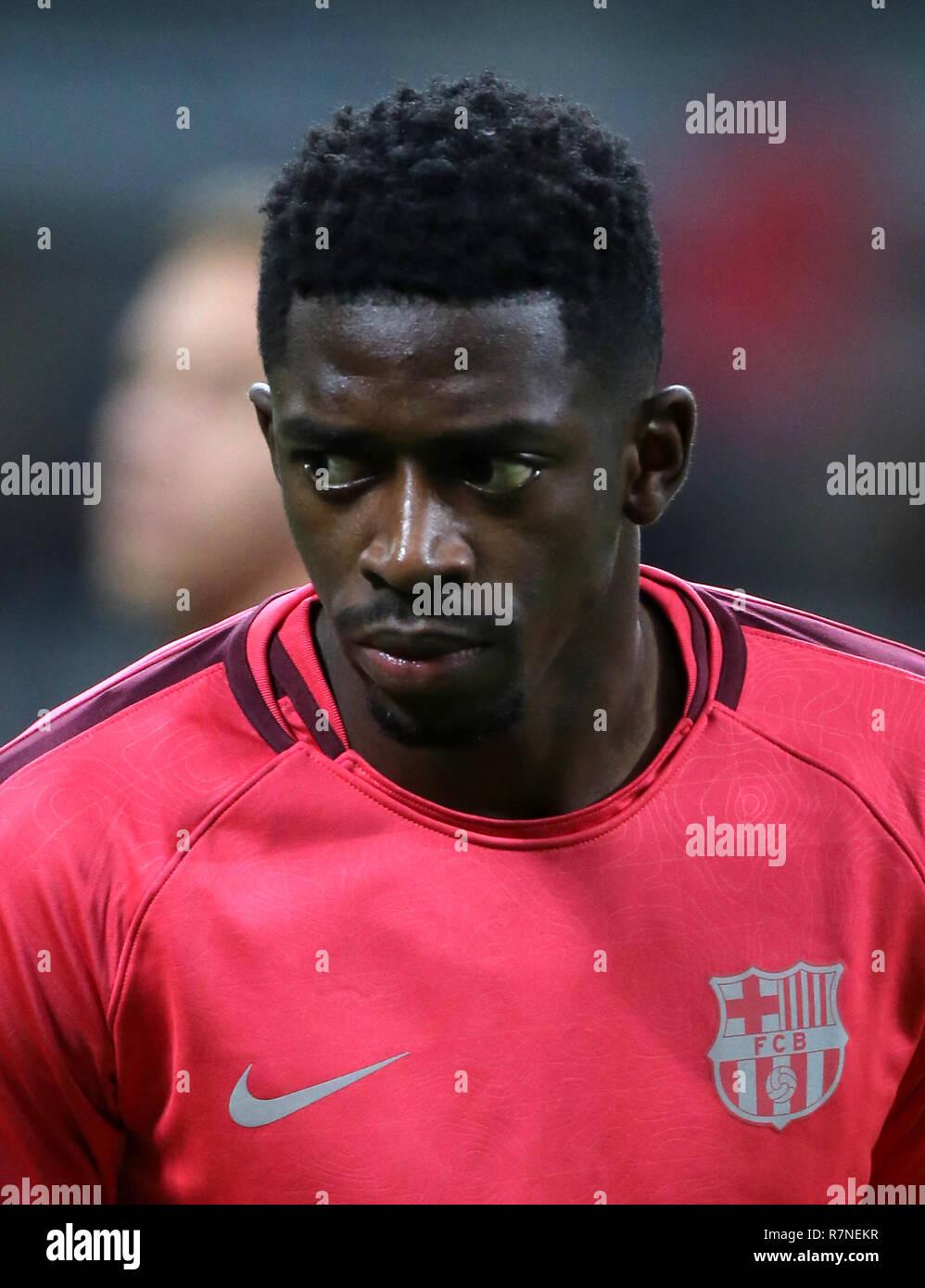 Spain - La Liga Santander 2018-2019 /  ( F.C. Barcelona ) -  Ousmane Dembele - Stock Image